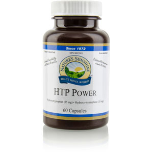 Nature's Sunshine Products, HTP Power, Hydroxytryptophan, 35 mg (60 Capsules)