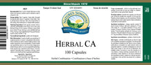 Nature's Sunshine Products, Herbal CA (100 Capsules)
