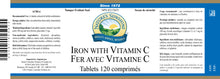 Nature's Sunshine Products, Iron, 5 mg with Vitamin C, 100 mg (120 Tablets)