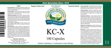 Nature's Sunshine Products, KC-X (100 Capsules)