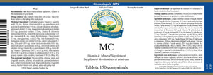 Nature's Sunshine Products, MC (150 Tablets)