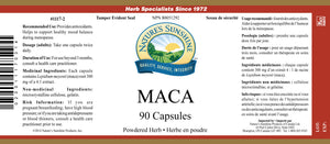 Nature's Sunshine Products, Maca, 300 mg (90 Capsules)