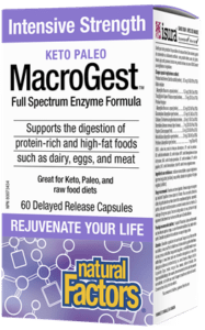 Natural Factors, MacroGest (60 Capsules)
