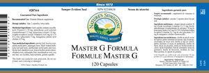 Nature's Sunshine Products, Master G Formula (120 Capsules)