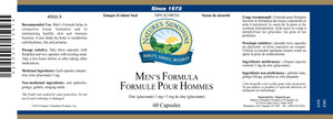 Nature's Sunshine Products, Men's Formula (60 Capsules)
