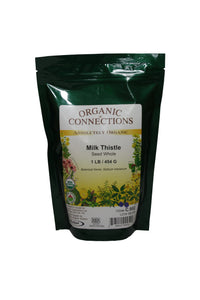 Organic Connections, Milk Thistle Seed, Whole, Organic (1 lb)