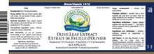 Nature's Sunshine Products, Olive Leaf Extract (60 Capsules)