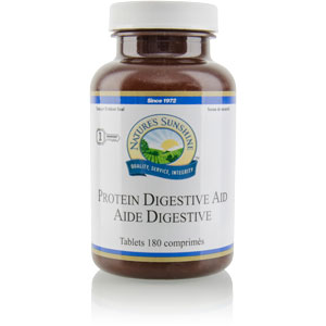Nature's Sunshine Products, Protein Digestive Aid (180 Tablets)