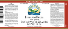 Nature's Sunshine Products, Psyllium Hulls (100 Capsules)