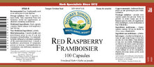 Nature's Sunshine Products, Red Raspberry (100 Capsulese)