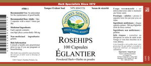 Nature's Sunshine Products, Rosehips (100 Capsules)