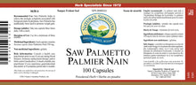 Nature's Sunshine Products, Saw Palmetto (100 Capsules)