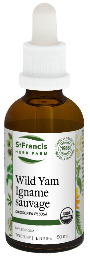 St Francis Herb Farm, Wild Yam Tincture (50 ml)