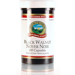 Nature's Sunshine Products, Black Walnut Hulls, 500 mg (100 Capsules)