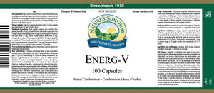 Nature's Sunshine Products, Energ-V (100 Capsules)