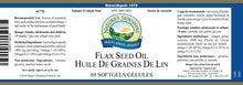Nature's Sunshine Products, Flax Seed Oil, 1000 mg (60 Capsules)
