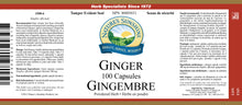Nature's Sunshine Products, Ginger, 500 mg (100 Capsules)