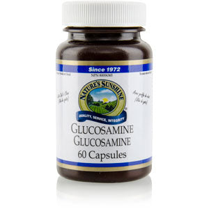 Nature's Sunshine Products, Glucosamine Hydrochloride with Cat's Claw (60 Capsules)