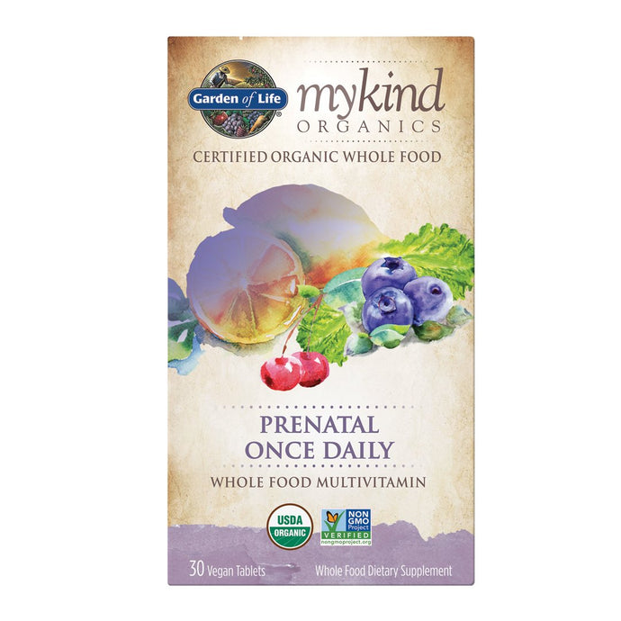 Garden of Life, Prenatal Once Daily (30 Vegan Tablets)