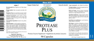 Nature's Sunshine Products, Protease Plus (90 Capsules)