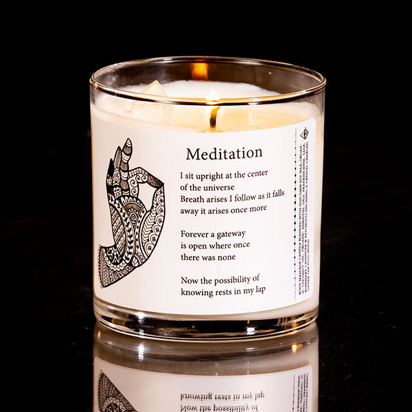 8 Oz. Meditation Candle