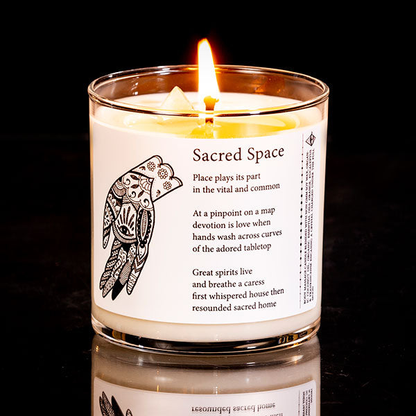 8 Oz. Sacred Space Candle