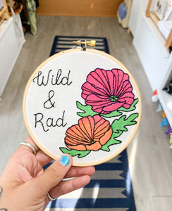 Wild & Rad Embrodiery Ring