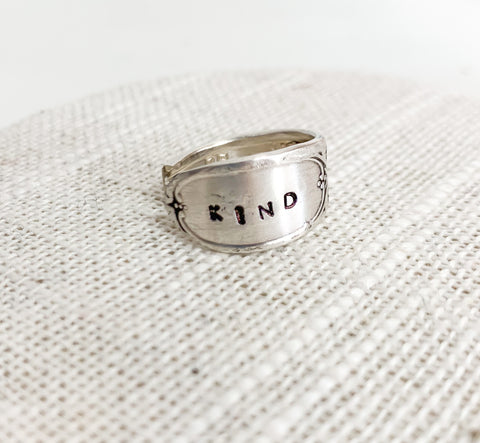 Kind Spoon Ring