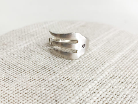 Heart Fork Spoon Ring