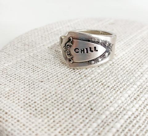 Chill Spoon Ring