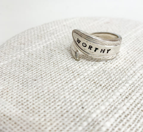 Worthy Spoon Ring