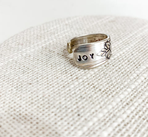 Joy Spoon Ring