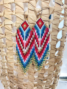 Sweet Lady Beaded Earrings