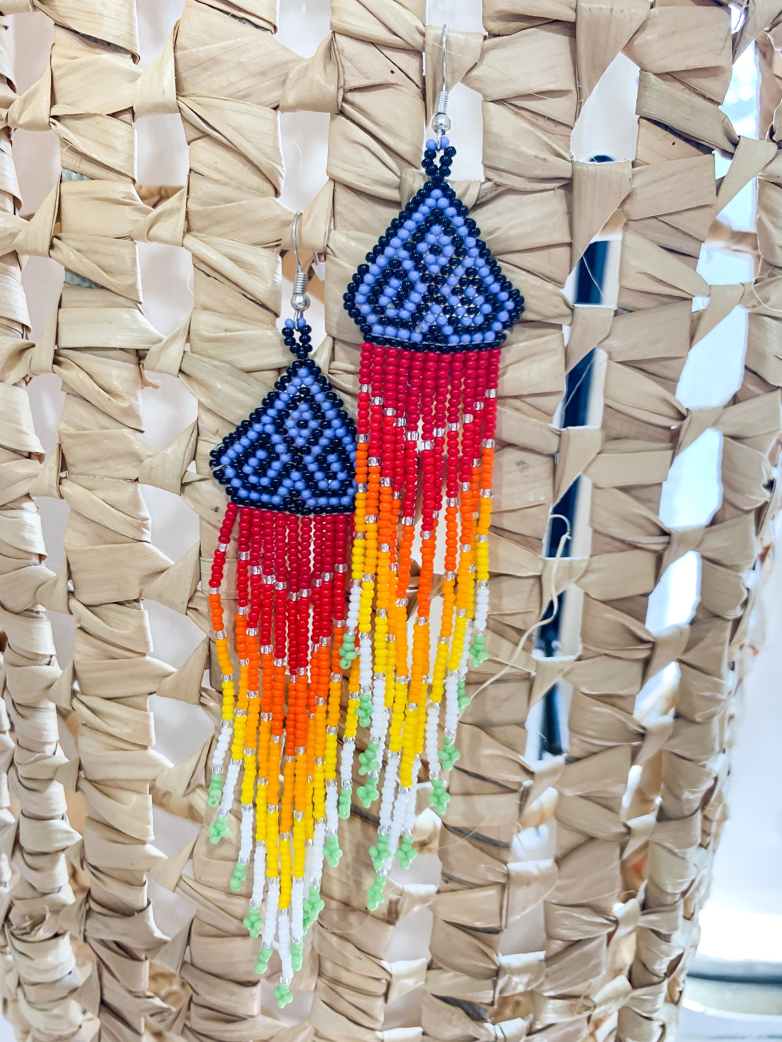 Lioness Beaded Earrings