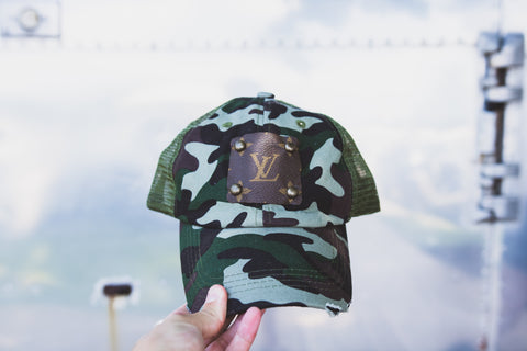 Louis Vuitton + Camo Hat