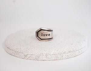 Love Spoon Ring