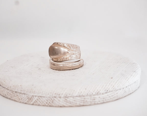 Pearl Spoon Ring