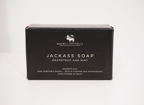 Jackass Soap - Grapefruit + Mint