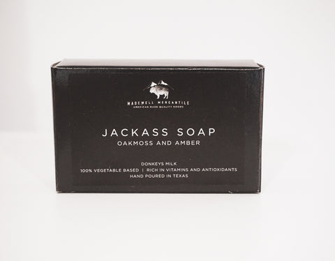 Jackass Soap - Oakmoss + Amber