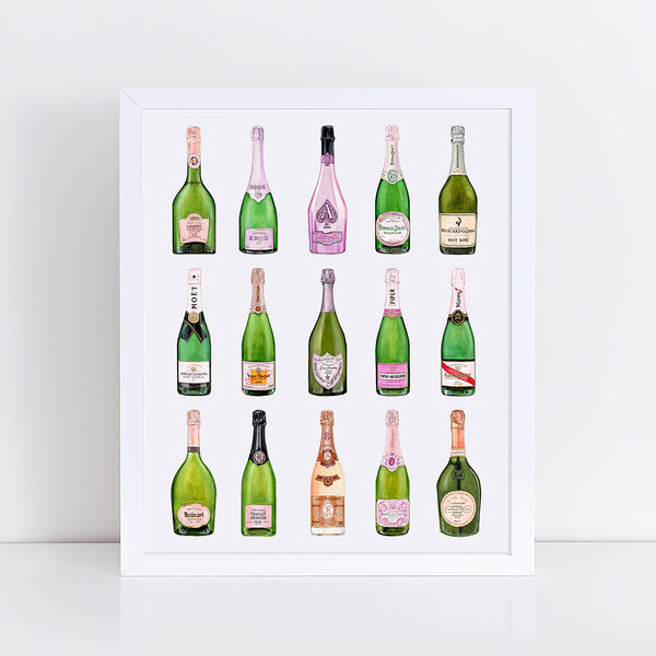 Rosé Collection Fine Art Print