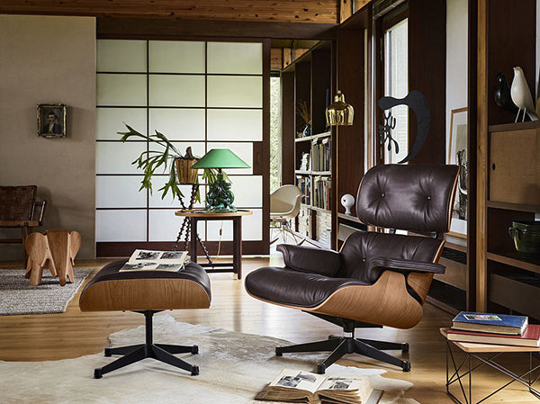 Remarkable Choosing The Best Wood Veneers And Leather Quality For Eames Bralicious Painted Fabric Chair Ideas Braliciousco