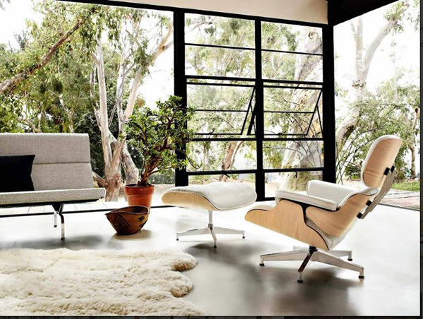 Strange Choosing The Best Wood Veneers And Leather Quality For Eames Bralicious Painted Fabric Chair Ideas Braliciousco