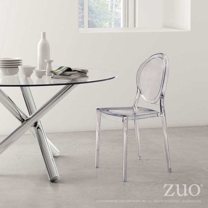 Specter Dining Chair Clear (Set of 4)