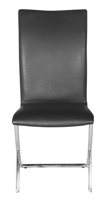Delfin Dining Chair Black (Set of 2)