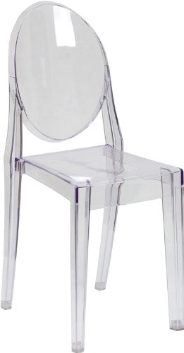 Nicer Interior - Ghost Side Chair in Transparent Crystal