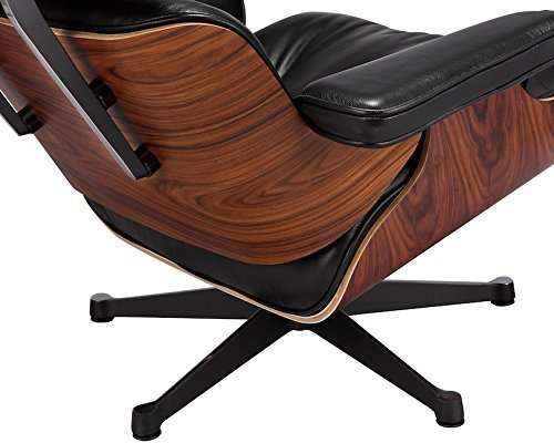 Eames Lounge Chair with Ottoman Rosewood/Palisander Wood Finish