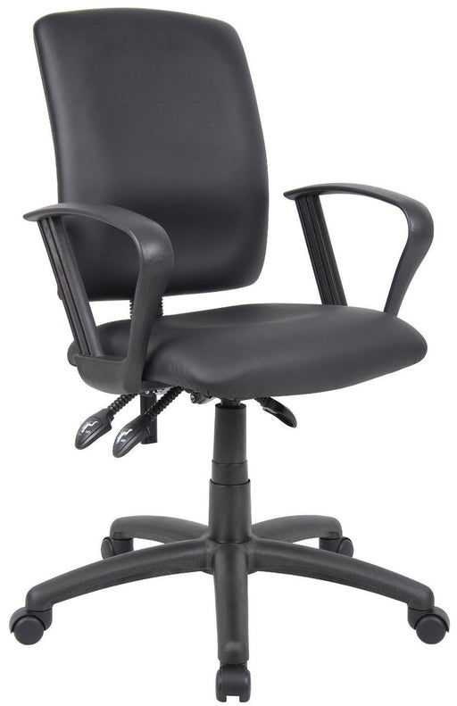 Adjustable Loop Arms Office Chair