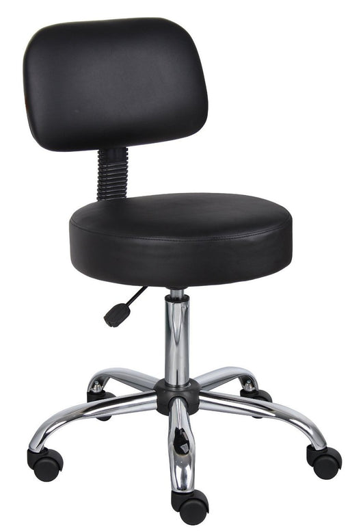 Black Hydraulic Chair