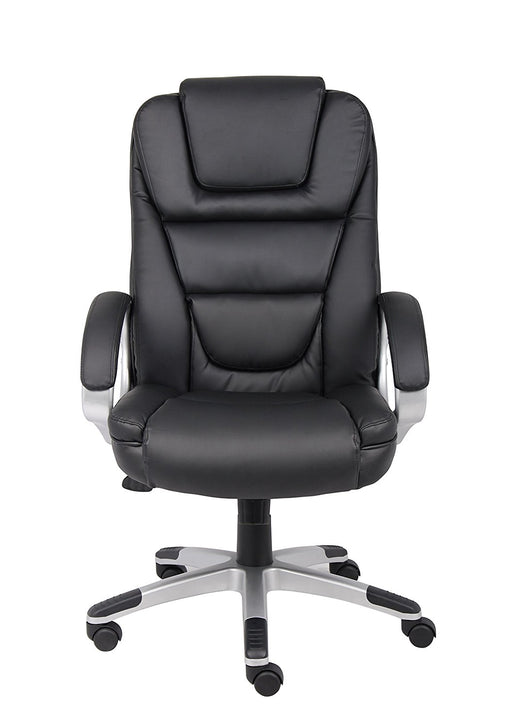 Nicer Furniture® High Back PU Leather Executive Chair Office Ergonomic Task Chair - Black