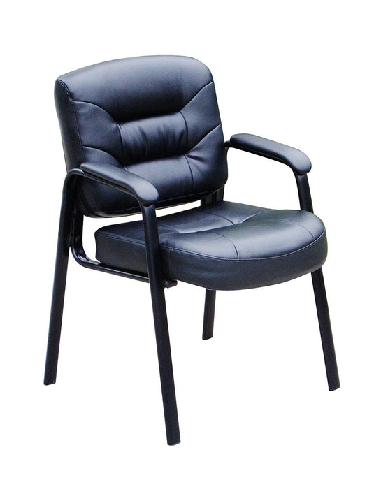 Leather Guest or Reception Chair